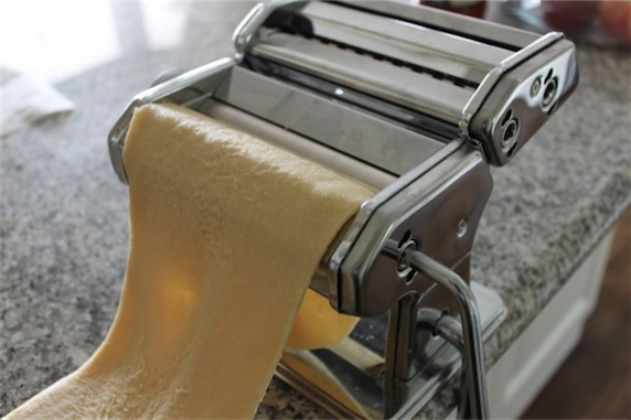 How to make fresh pasta step 6
