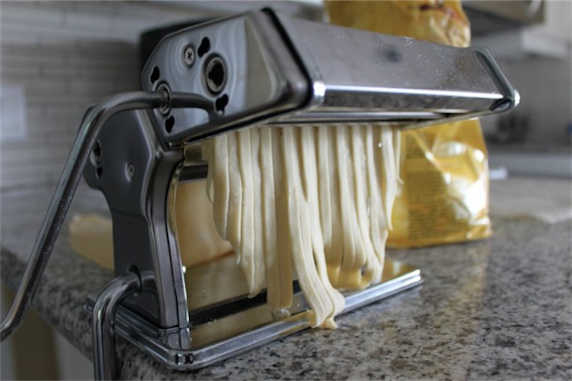 How to make fresh pasta step 7