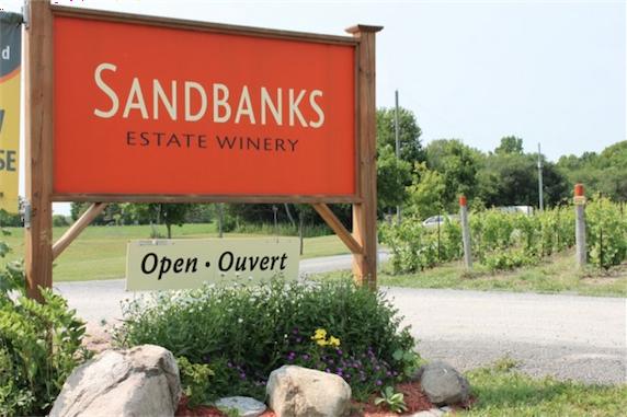 Sanbanks sign