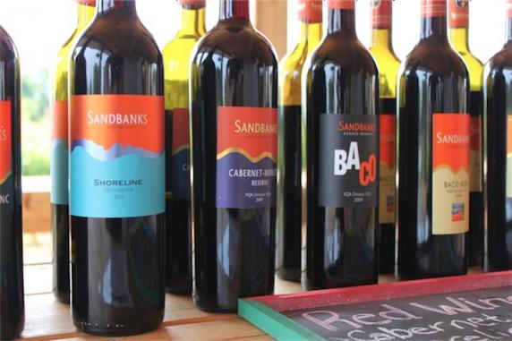 Sandbanks-wine
