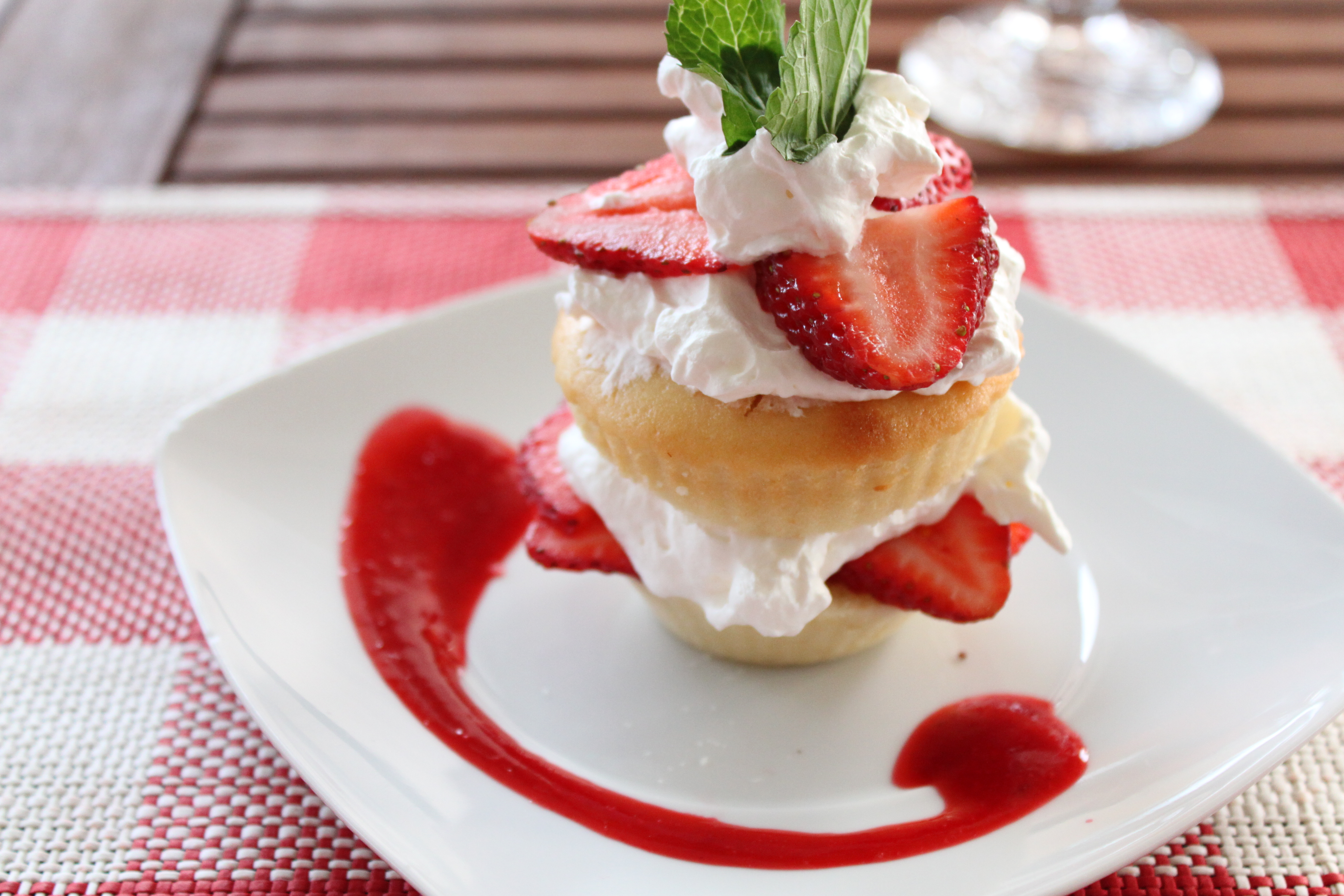 strawberry shortcake is always a great dessert for the summer it s so