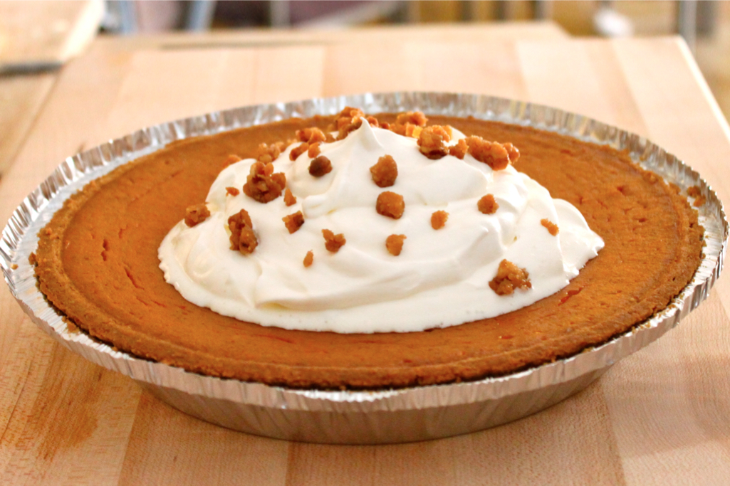 Pumpkin Pie - I Adore Food!