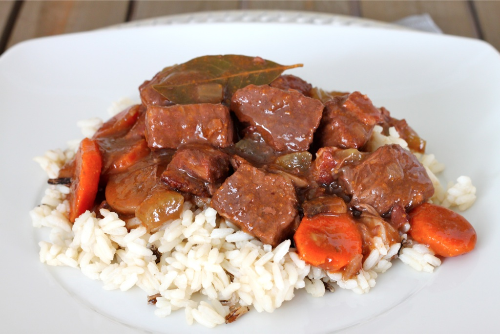 Boeuf Bourguignon (French Beef Stew) - I Adore Food!