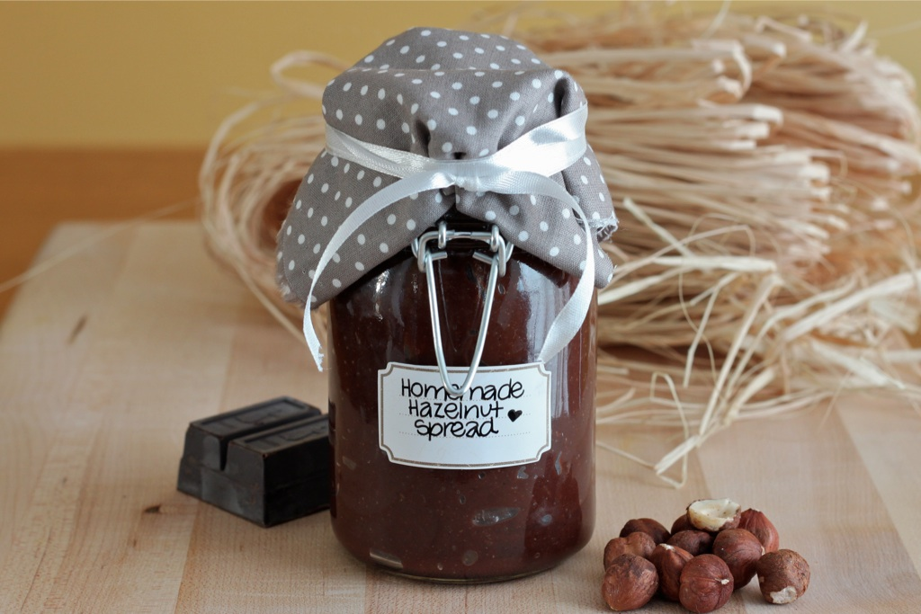 Homemade Hazelnut Spread Great Diy Christmas Gift I