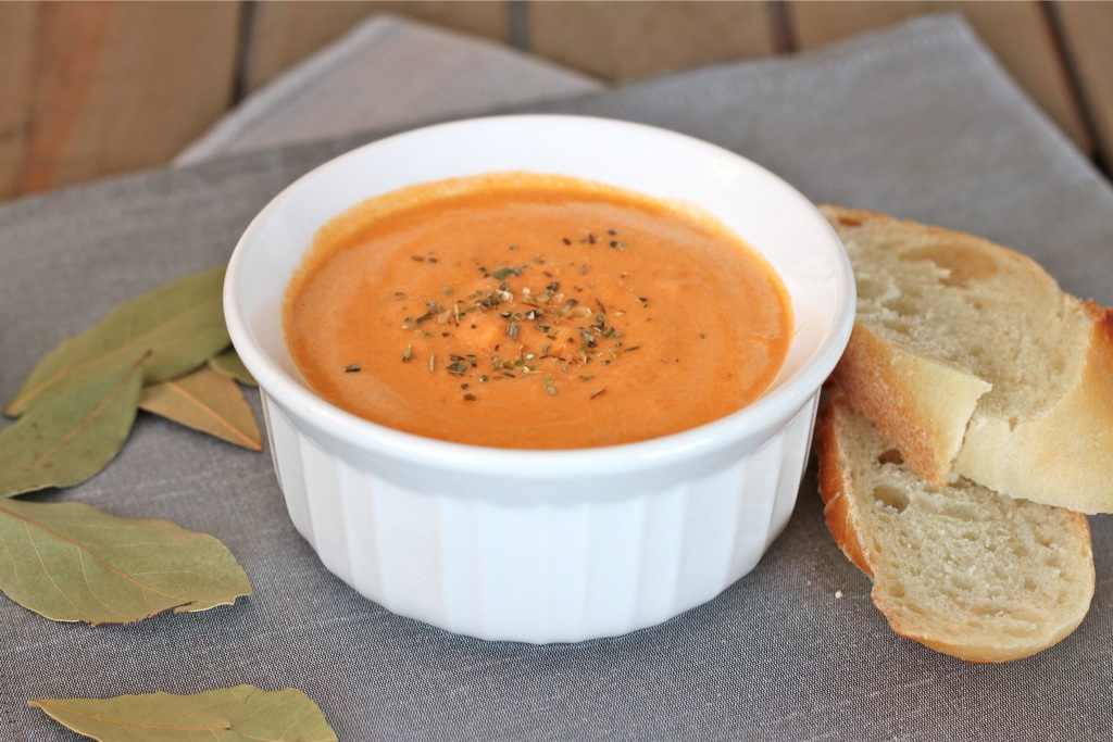 Roasted Tomato Soup - I Adore Food!