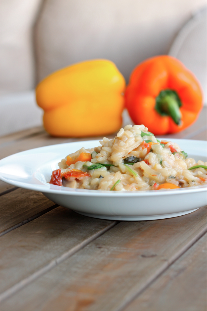 Risotto With Sun-Dried Tomatoes And Mozzarella Recipes — Dishmaps