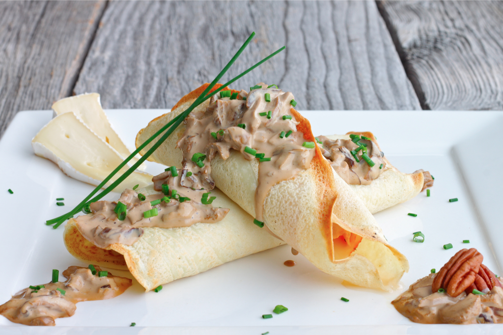 Ham And Brie Crepes Recipes — Dishmaps