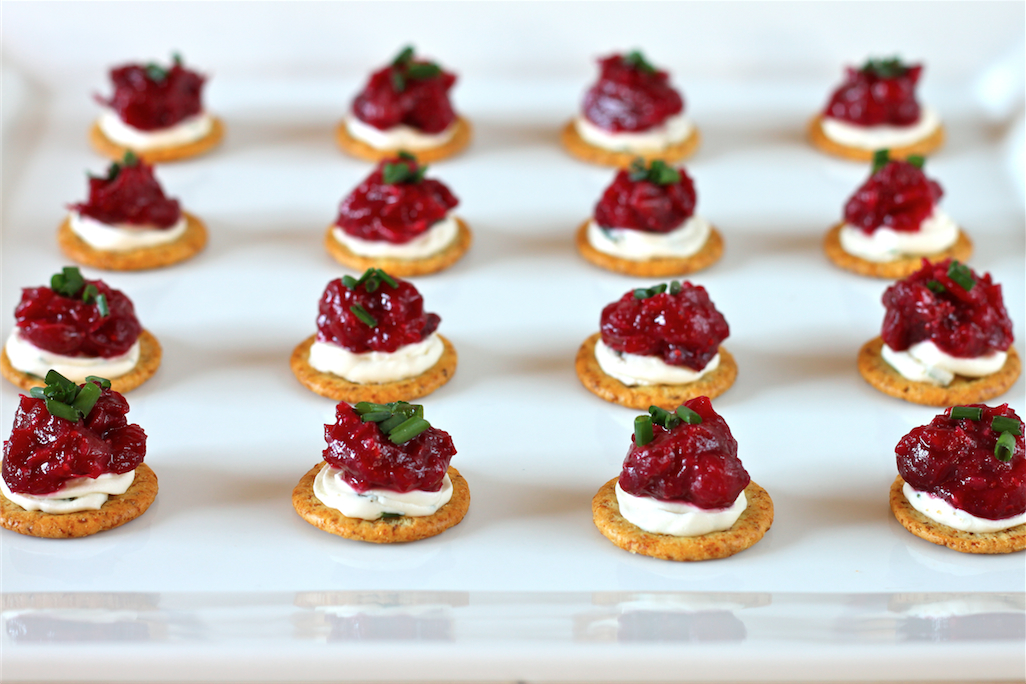 Cranberry Dijon And Cream Cheese Appetizer I Adore Food