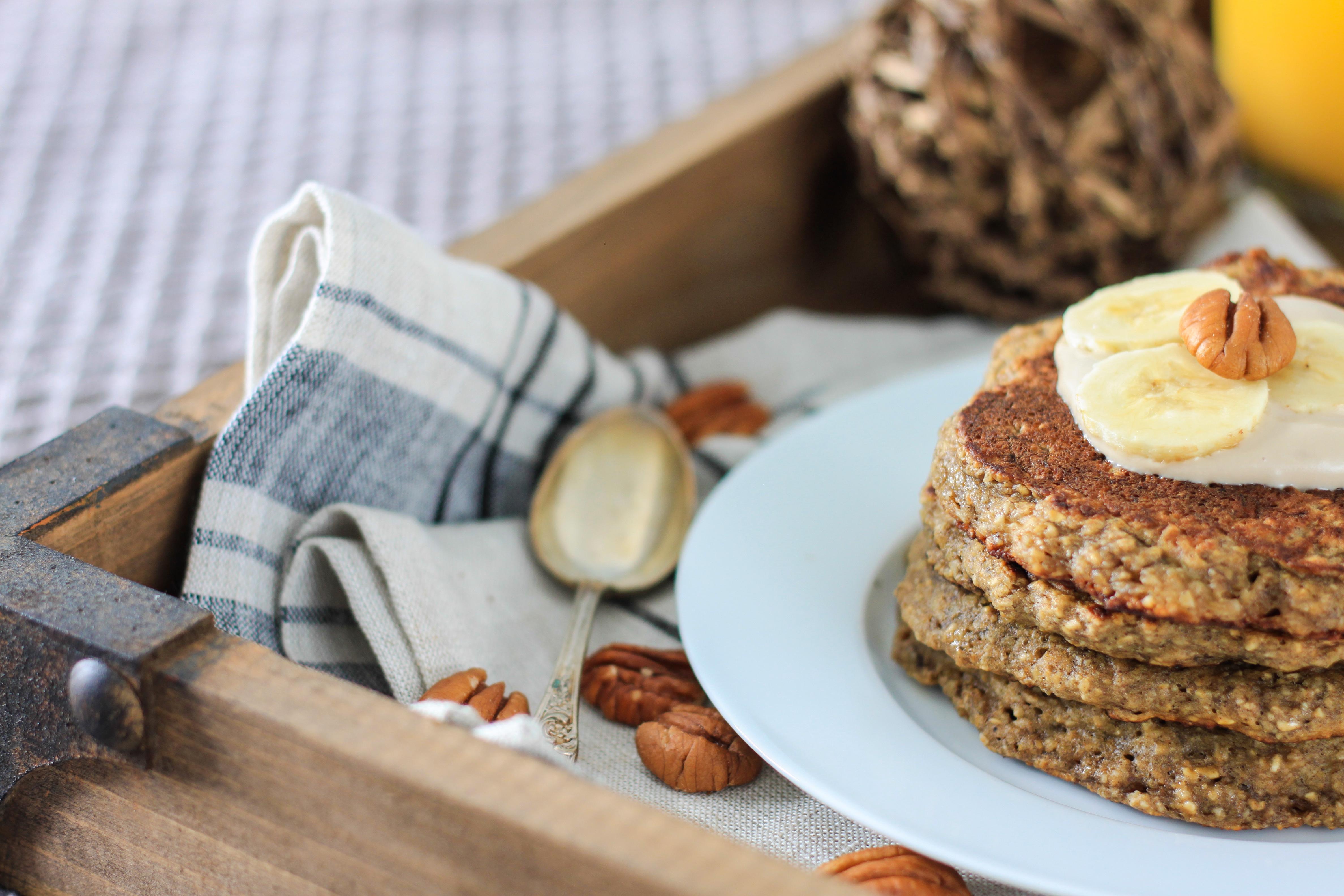 Gluten-Free Healthy Banana Oat Pancake - I Adore Food!