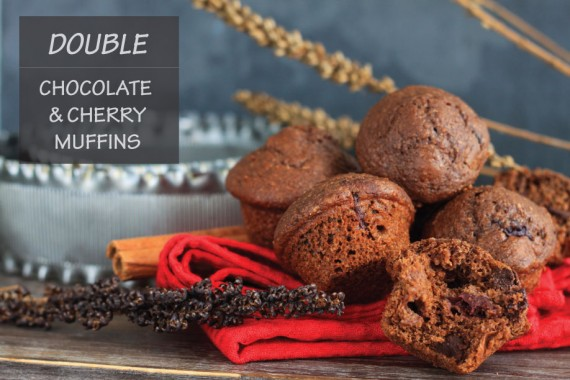 Chocolate Cherry Muffins – I Adore Food