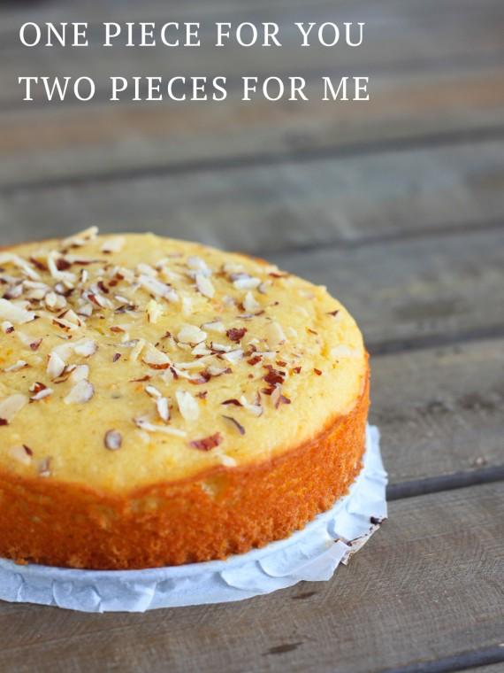 Healthy Orange and Grapefruit Cake {Gluten-Free} – I Adore ...